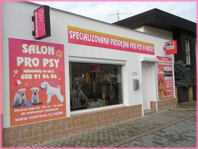 Grooming salon and Pet Shop